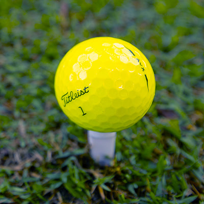 Titleist AVX Yellow <br/> Used Golf Balls