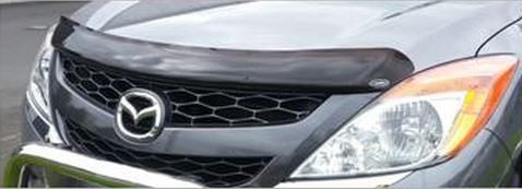 Mazda BT50 Tinted Bonnet Guard