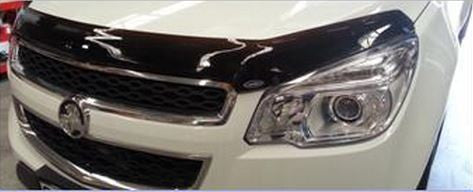 Holden Colorado Tinted Bonnet Guard