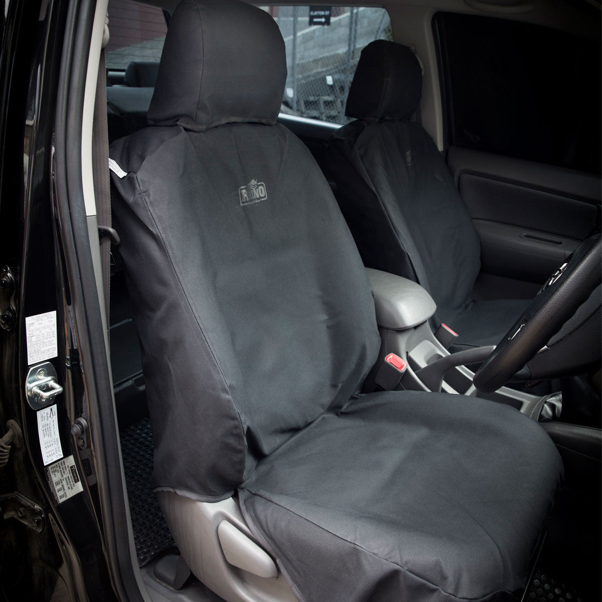 Toyota hilux canvas seat covers