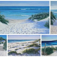 Coastal Dreaming Set of 5 Cards