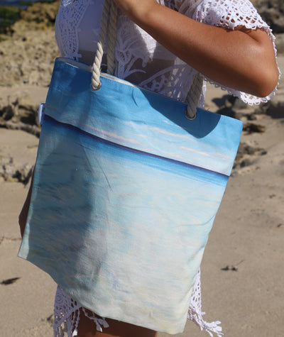 Blue Horizons Tote Bag