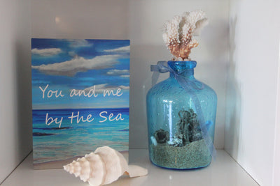 You and Me by the Sea Table Top Plaque