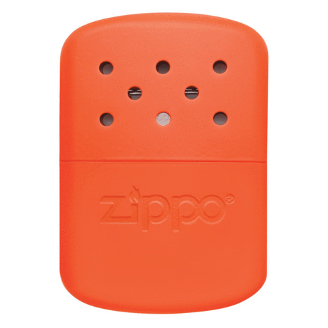 12-Hour Refillable Hand Warmer Orange
