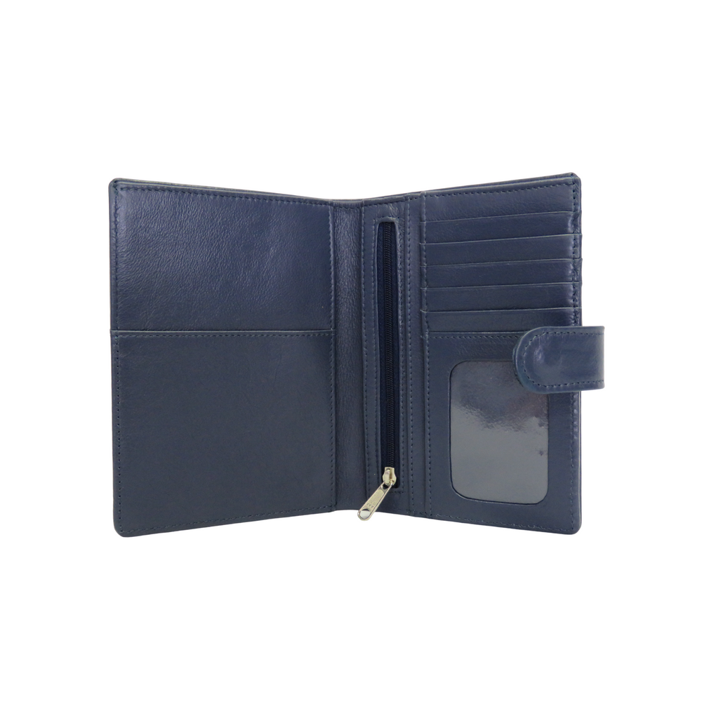 Leather E-Ticket Travel Wallet
