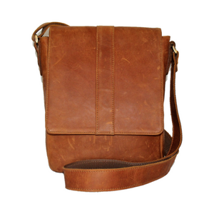 Jaguar Leather Messenger Bag