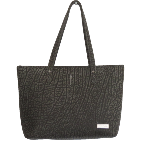 Luna Buffalo Leather Shopper