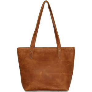 Little Luna Nguni Leather Shopper