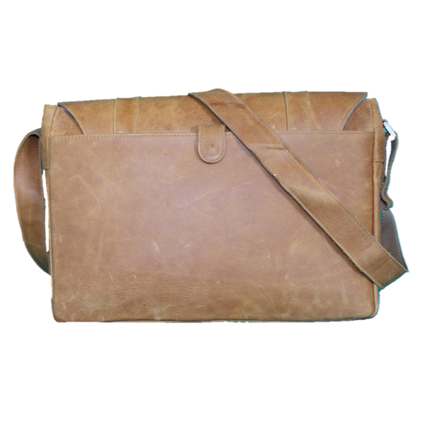 Smith Leather Laptop Satchel