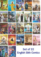Load image into Gallery viewer, Complete Set - Twenty Two Sikh Comics (English Graphic Novels)