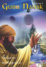 Load image into Gallery viewer, Guru Nanak - The First Sikh Guru, Volume 3 (English Graphic Novel)