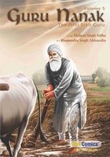 Load image into Gallery viewer, Guru Nanak - Volume 1, 2, 3, 4, 5 (English Graphic Novels)