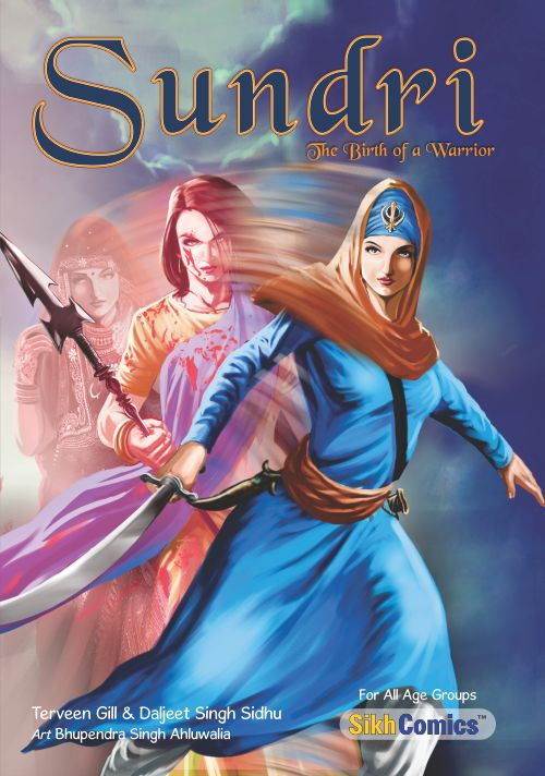 Sundri - The Birth of a Warrior (English Graphic Novel)