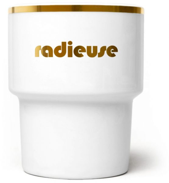 Radieuse Gold Mug