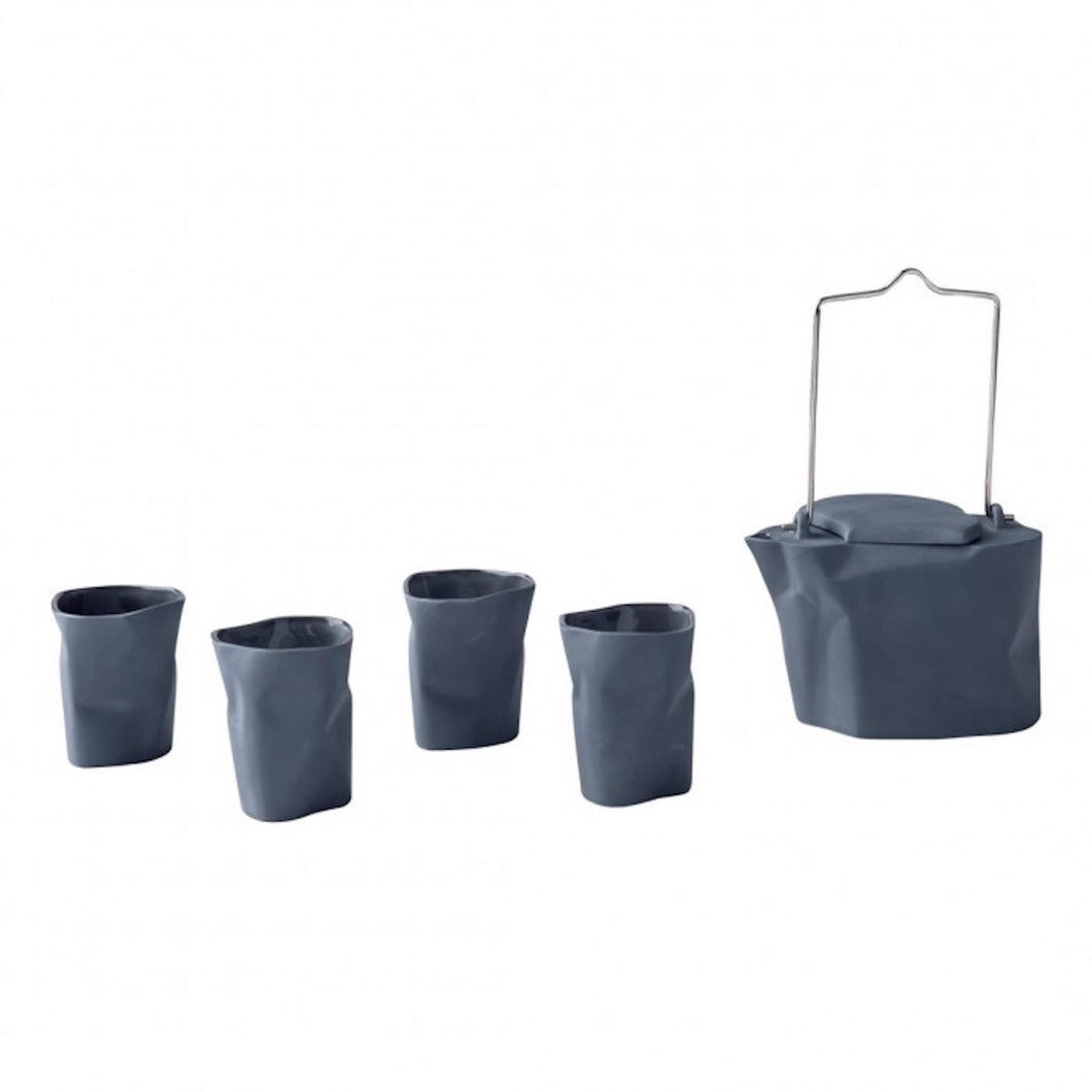 Bent Tea Set Dark Grey
