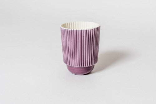 Stripy Mug Purple