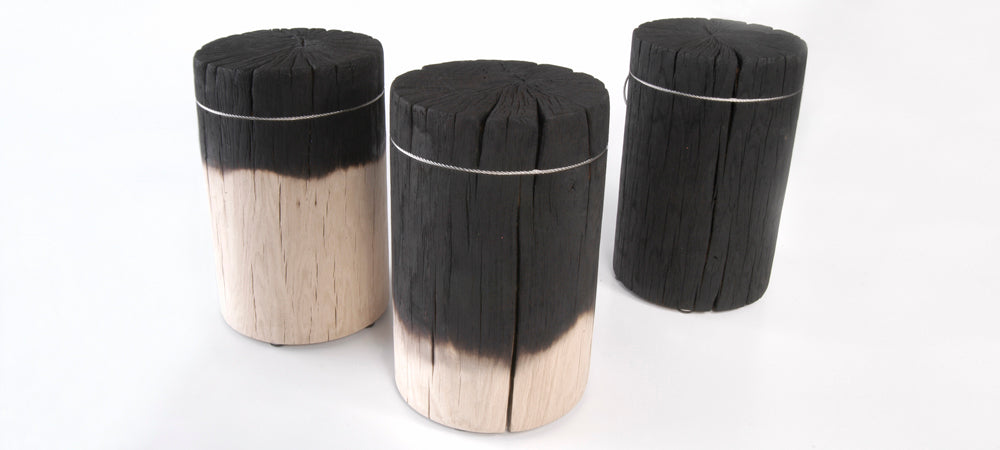 Fire Full Trunk Stool