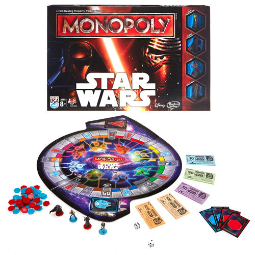 Product Image of Hasbro Monopoly Star Wars Game Set #1