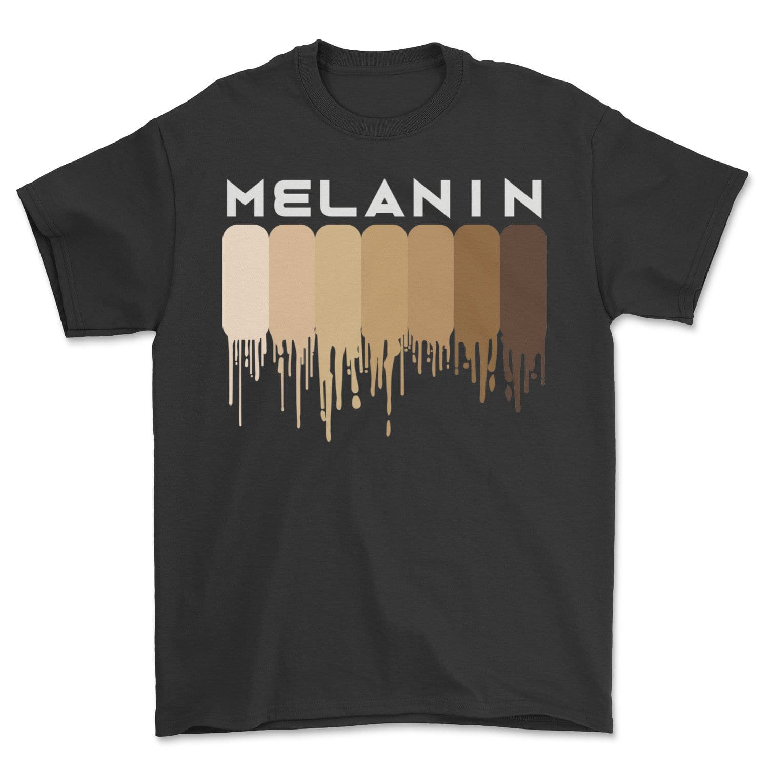 Drippin Melanin Shirt for Women Pride - Gifts Black History T-Shirt