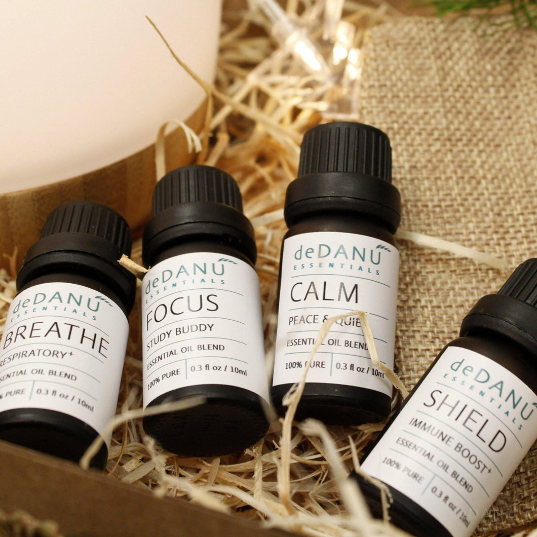 Essential Oil Wellness Blends Gift Set - deDANÚ Ireland