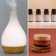 Load image into Gallery viewer, Wellness At Work Diffuser Gift Set + Hand Cream - deDANÚ Ireland