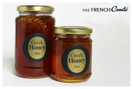 Pine Honey with honeycomb