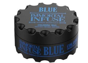 Immortal Infuse Coloring Wax Blue 100 ml - Hairwaxshop