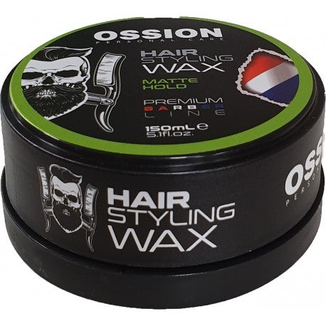 OSSION HAIR STYLING WAX MATTE HOLD 150 ML