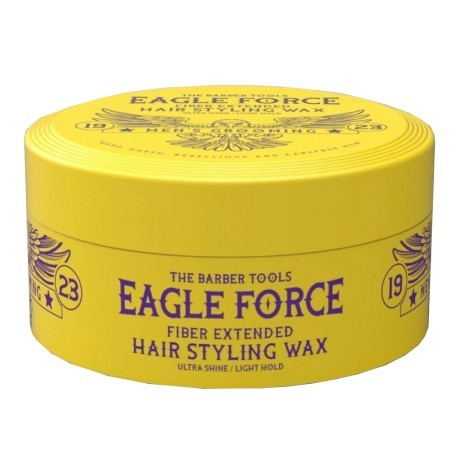 Eagle Force Fiber Extended Hair Styling Wax Ultra Shine Light Hold 150 ml