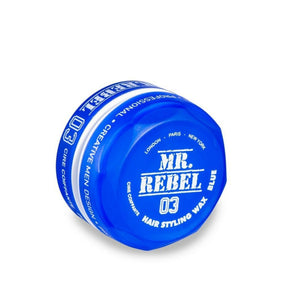 Mr. Rebel 03 Hair Styling Wax Blue 150 ml - Hairwaxshop