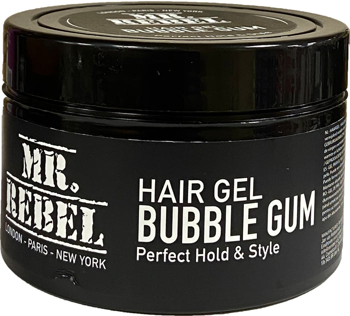 Mr Rebel Hair Gel Bubble Gum 450 ml