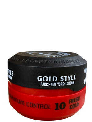 Gold Style Styling Wax 10 Cola Fresh 150 ml - Hairwaxshop