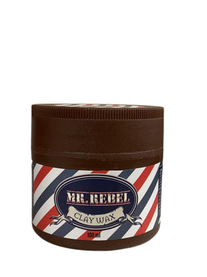 Mr Rebel Clay Wax 100 ml - Hairwaxshop