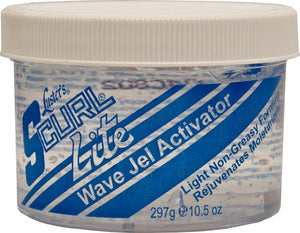 S-Curl Wave Gel Activator Jar Lite 10.5 oz - Hairwaxshop