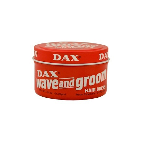 Dax Wave & Groom Red Tin 3.5 oz