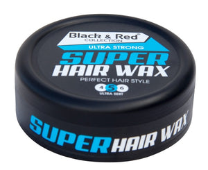 Black and Red Ultra Strong Super Hair wax 150 ml - Hairwaxshop