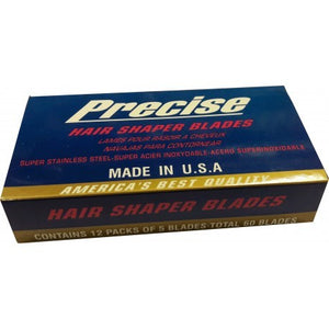 Precise Hair Shaper Blades (60 pcs) - Hairwaxshop