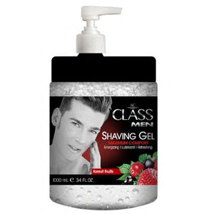 AC Class Men Shaving Gel 1000 ml - Hairwaxshop