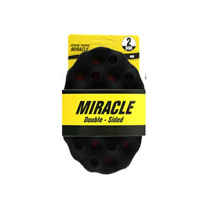 General Purpose Miracle Double Sided Twist Sponge Middle Size - Hairwaxshop