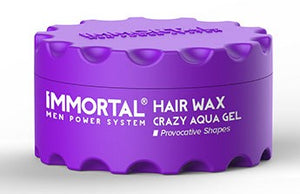 Immortal Hair Wax Crazy Aqua Gel 150 ml - Hairwaxshop