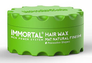 Immortal Hair Wax Matt Natural Finish 150ml - Hairwaxshop