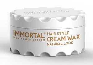 Immortal Hair Style Cream Wax Natural Look 150 ml - Hairwaxshop