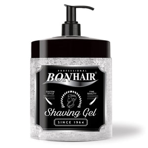 BONHAIR PROFESSIONAL SHAVING GEL 1000 ml - Hairwaxshop