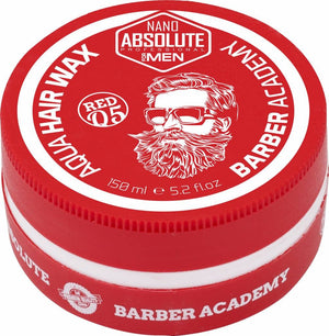 Nano Absolute Barber Academy Hairwax Red 150 ml - Hairwaxshop