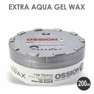Ossion Man Wax Extra Aqua Gel Wax 200 ml - Hairwaxshop