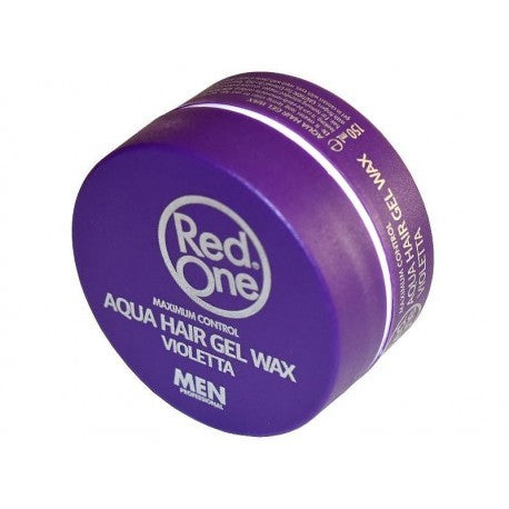 Red One Aqua Hair Gel Wax Violetta Men 150 ml