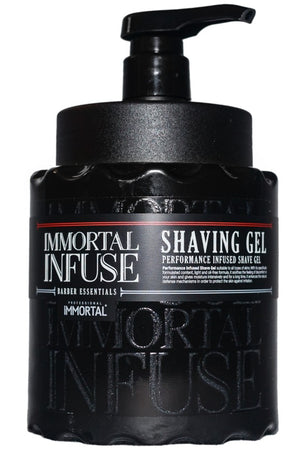 Immortal Infuse Shaving Gel 1000 ml - Hairwaxshop