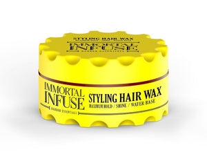 Immortal Infuse Styling Hair wax Maximum Hold Shine 150 ml - Hairwaxshop