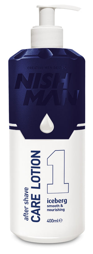 Nishman After Shave Care Lotion Iceberg 400 ml - Hairwaxshop
