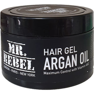 Mr Rebel Hair Gel Argan Oil 450 ml - Hairwaxshop